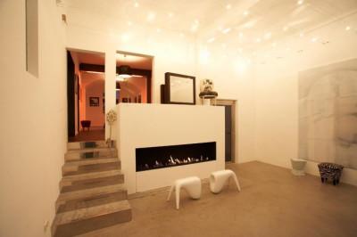 Unsere Kamin Lounge